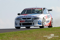 Garth Tander gets airborne on Friday and takes out the first offical practice
