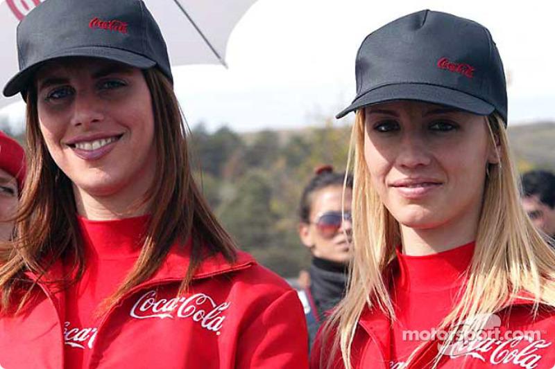Chicas Coca-Cola