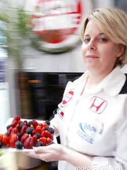 BAR hospitality area: Joanne Pinkstone