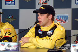 Press conference: race winner Ed Carpenter