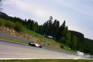 Motion blur on Jenson Button