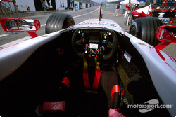 Toyota cockpit