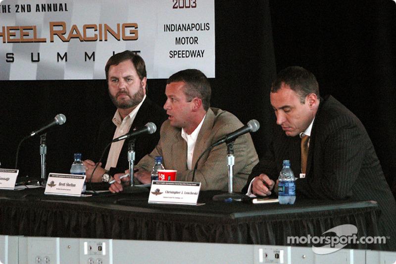 Eddie Gossage, Brett Shelton and Christopher J. Lencheski
