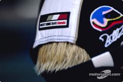 A new hair color for Jacques Villeneuve