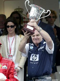 The podium: Patrick Head
