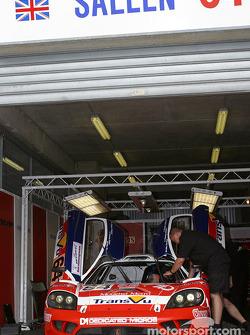 #64 Graham Nash Motorsport pit area