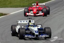 Ralf Schumacher y Michael Schumacher
