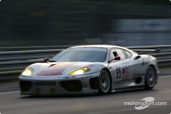 #95 Risi Competizione Ferrari 360 Modena: Shane Lewis, Butch Leitzinger, Johnny Mowlem