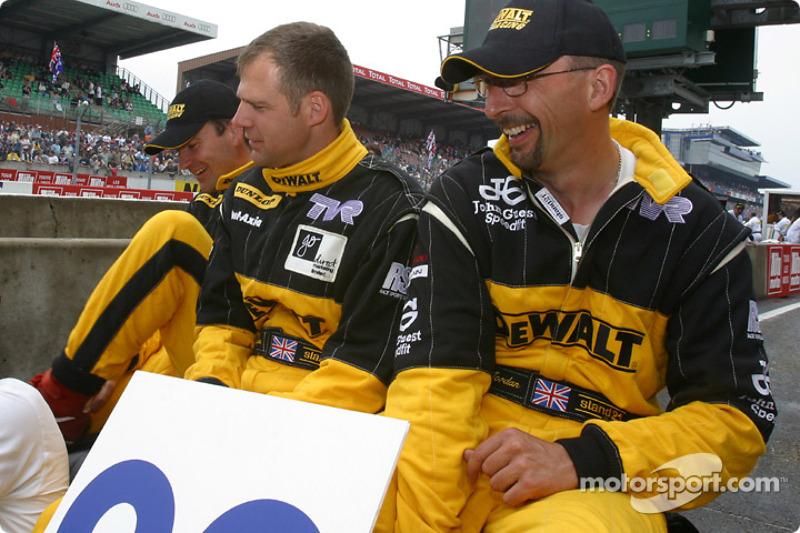#92 DeWalt-Racesports Salisbury TVR Tuscan T400R: Tim Sugden, Michael Caine, Mike Jordan