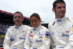 #84 T2M Motorsport Porsche 911 GT3: Vanina Ickx, Patrick Bourdais, Roland Berville