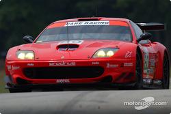 #80 Prodrive Racing Ferrari 550 Maranello: Danica Patrick, Jérôme Policand