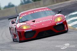 #35 Risi Competizione Ferrari 360 Modena: Terry Borcheller, Anthony Lazzaro, Ralf Kelleners