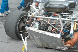 ICY SL Motorsports Corvette had a bit of an impact
