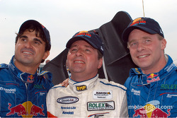 Mike Borkowski Scott Goodyear and David Donohue