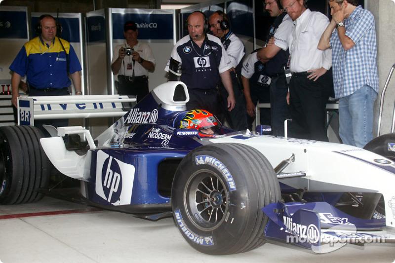 Indianapolis 2003: Jeff Gordon im Formel-1-Boliden