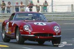 #24 Ferrari 275 GTB: Yvan Mahe, Richard Millman