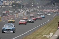 Carrera de Leyendas de Le Mans el sábado