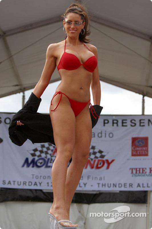 Miss Molson Indy 2003: la partie maillot de bain