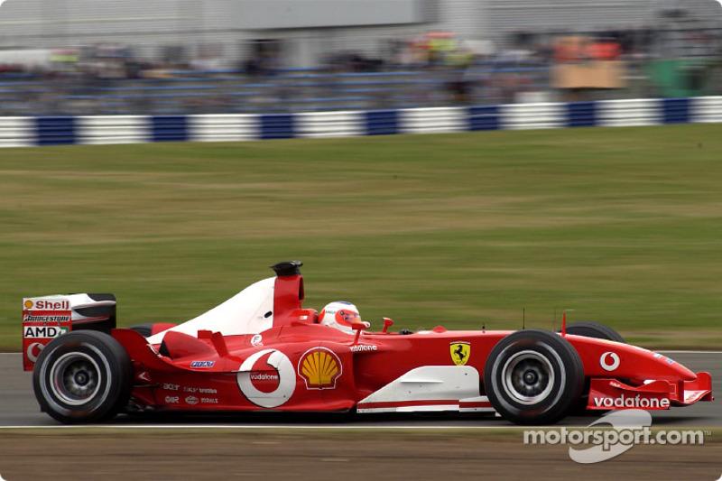 Barrichello vann pa silverstone