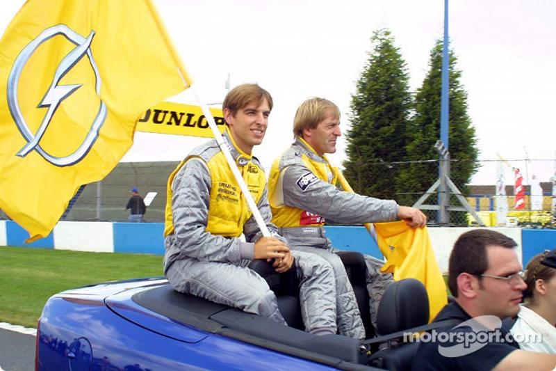 Jeroen Bleekemolen and Joachim Winkelhock