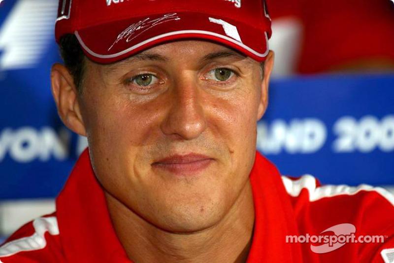Conférence de presse du jeudi : Michael Schumacher