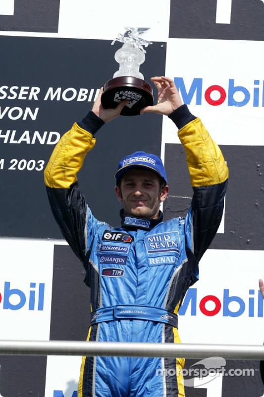 Le podium: Jarno Trulli