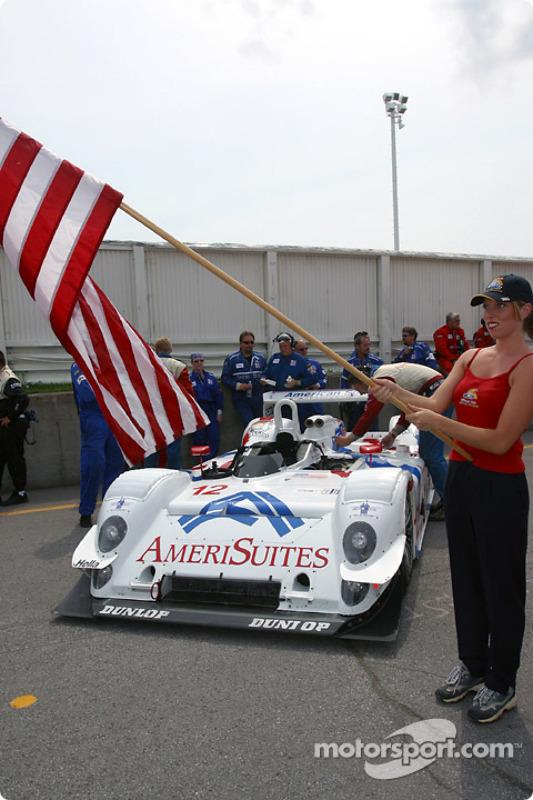 La Riley & Scott MK III C n°12 de l'équipe American Spirit Racing
