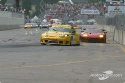 #61 P.K. Sport Porsche 911 GT3 RS: Vic Rice, John Graham