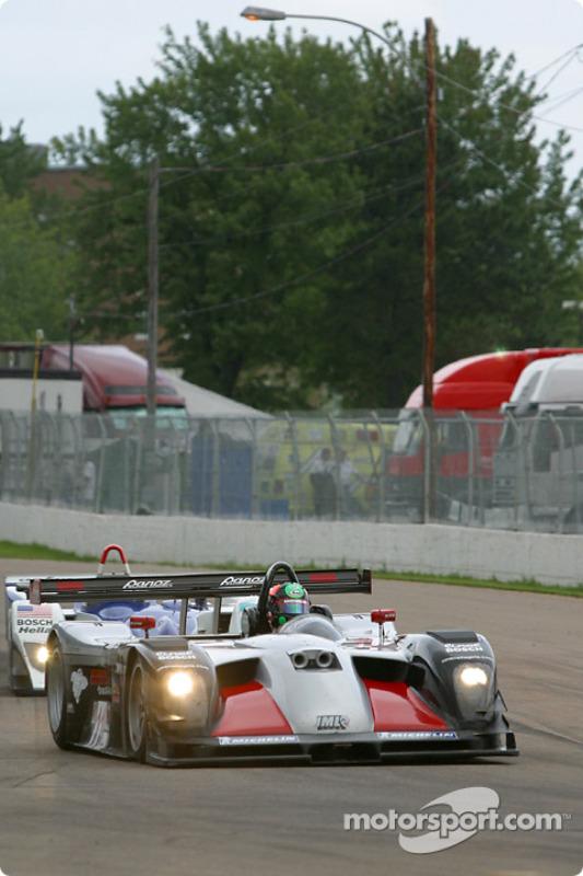 la Panoz LMP01 n°11 de l'équipe JML pilotée par Gunnar Jeannette, Scott Maxwell