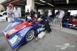 Fueling the #37 Intersport Racing Lola EX257/AER