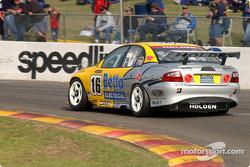 Paul Weel on pit straight