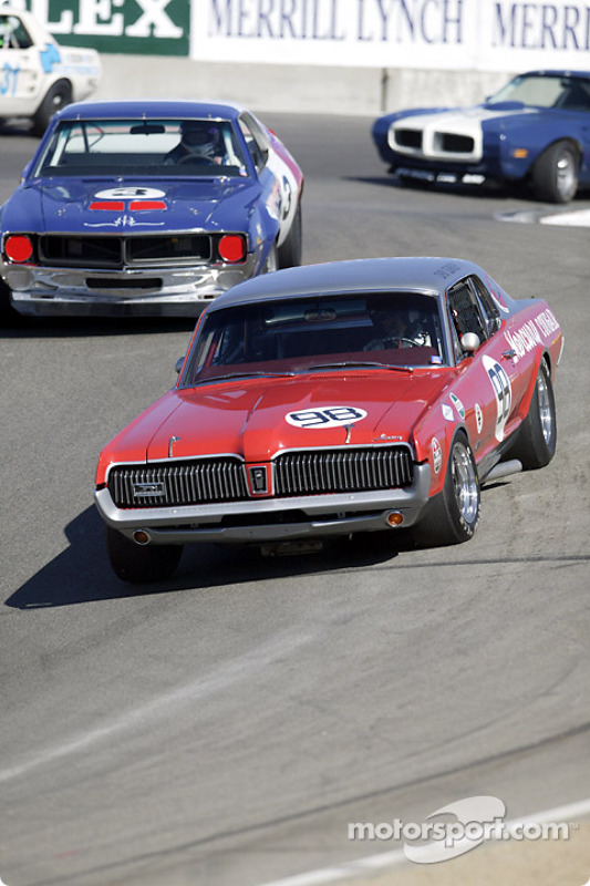 98 1967 Cougar Being Chased By The Field