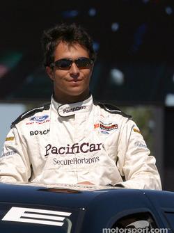 Drivers parade: Bruno Junqueira