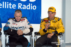 Press conference with Mark Martin and Matt Kenseth