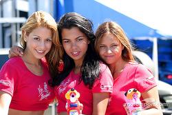 The lovely Miss Meringue girls