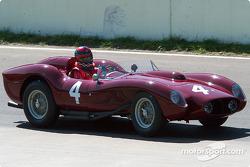 #4 1957 Ferrari 250TR, owned by Jon Shirley
