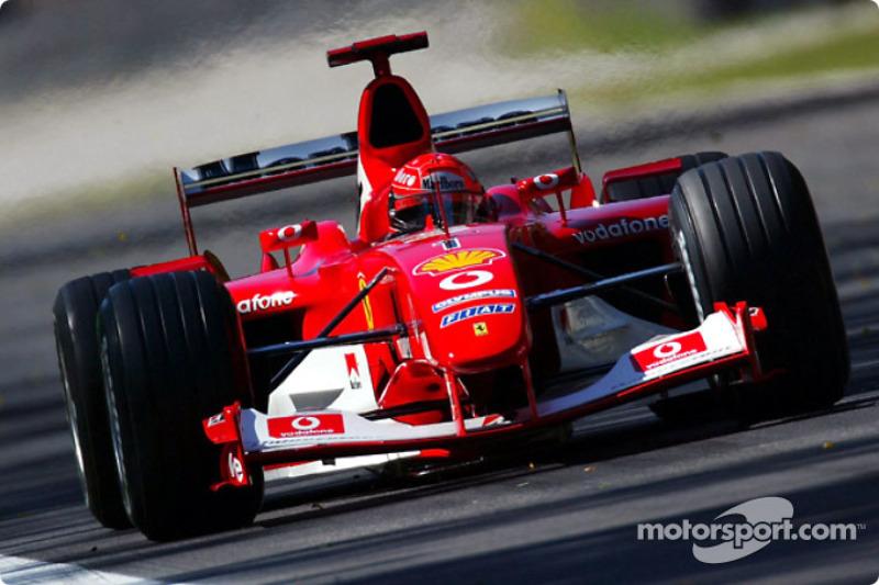 2003: Michael Schumacher (Ferrari F2003-GA)