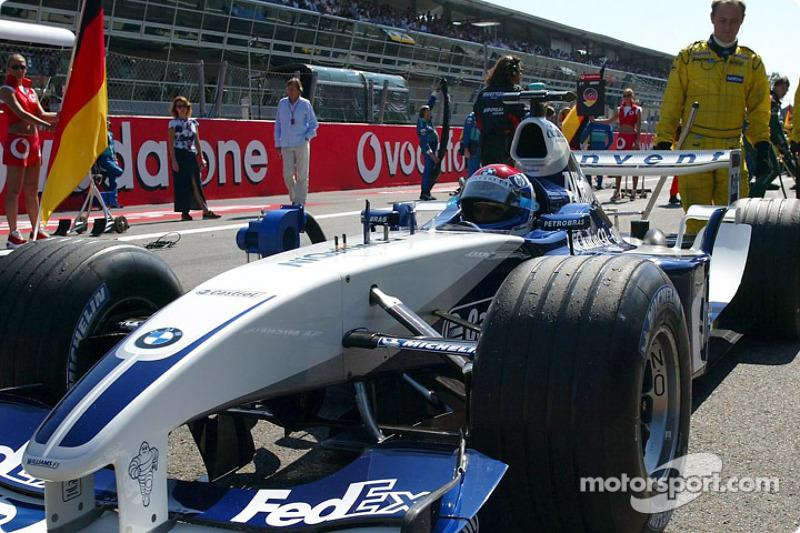 Marc gene sur la grille de d part grand prix d 39 italie - Grille de depart formule 1 ...