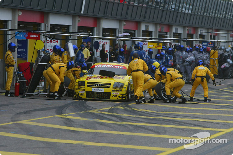 Pitstop practice for Christian Abt