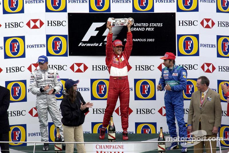 10. GP de Estados Unidos 2003