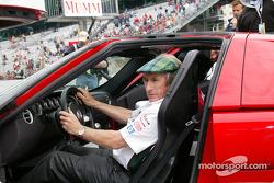 Jackie Stewart et la Ford GT40