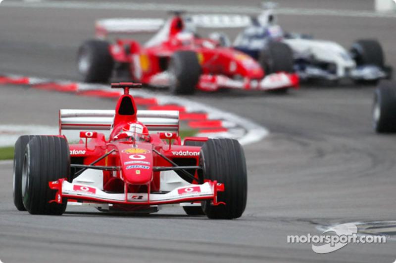 2003 - Міхаель Шумахер, Ferrari