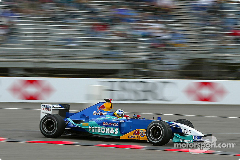 2003: Sauber C22