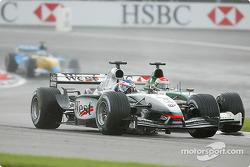 Kimi Raikkonen and Justin Wilson