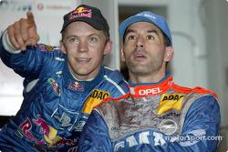Mattias Ekström and Alain Menu