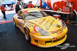 Schumacher Racing paddock area