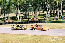 #40 Derhaag Motorsports Corvette: Simon Gregg, Kenny Wilden, and #8 G&W Motorsports BMW Picchio DP2: Darren Law, Patrick Huisman