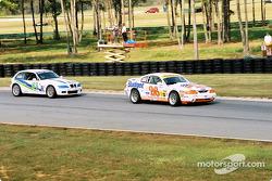 #26 Snipes Ford Motorsports Mustang Cobra R: Daniel Jackson, Chuck Snipes, et #83 Duane Neyer Motorsports BMW Z3: Mark Plummer, Guy Cosmo