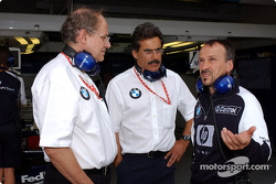 Dr Burkard Goeschel, Dr Mario Theissen and Dr Heinz Paschen