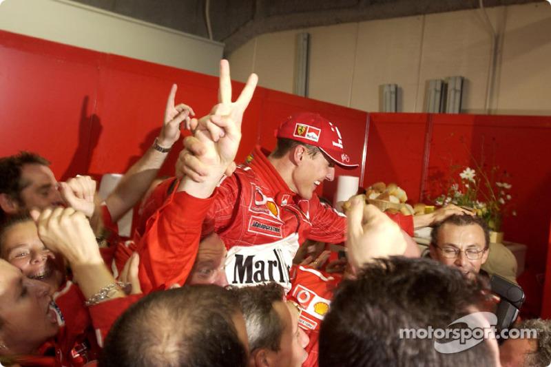 Michael Schumacher, Scuderia Ferrari, campeón del mundo de F1 2003